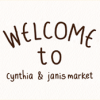 welcome to cynthia・janis market