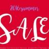 SUMMER SALE スケジュール ~part-1~